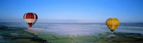 Ballooning across the Yarra Valley