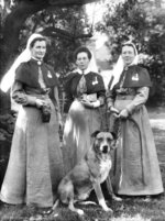 Nellie Gould and her pioneer Boer War nurses